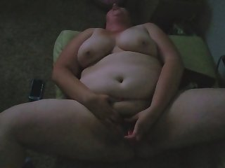 slut fucks herself