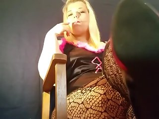 mariella smoking domination under my heels