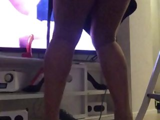 pissing high heels nylonfeet dildo my movie legs ts shemale