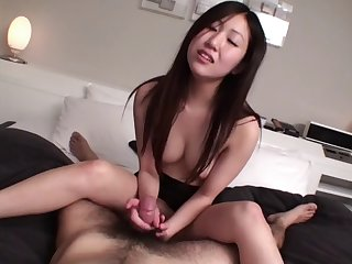 uncensored jav first time amateur handjob leads to sixtynine