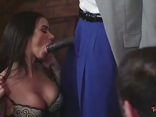 classy housewife fucked in front of husband