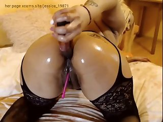 milf big oiled ass solo anal