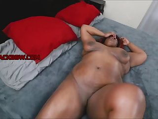 profuse in sexy black milf
